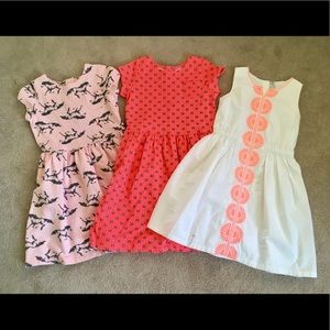 Girl's Size 8 Dress Bundle, Carter's
